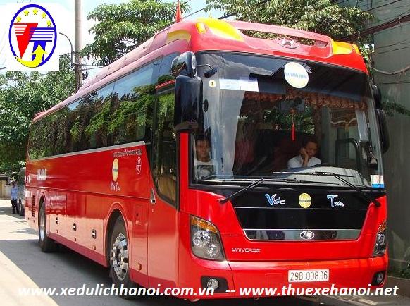 Cho thuê xe 45 Univer tại Thái Bình giá rẻ