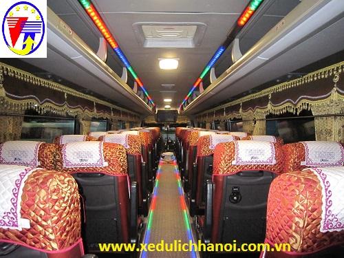 Cho thuê xe 45 Univer đi biển Bãi Lữ - Nghệ An giá rẻ